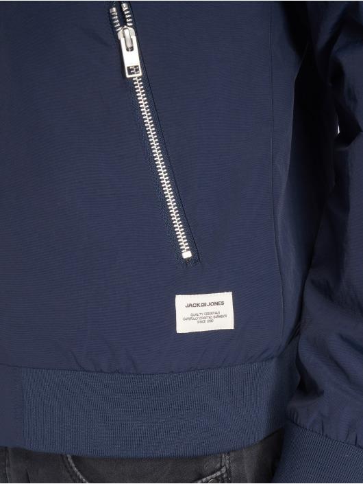 Jack & Jones Letecká bunda jjePacific modrý