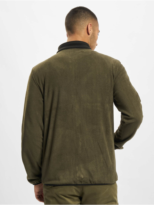 Jack & Jones Lightweight Jacket Jjhype Fleece green