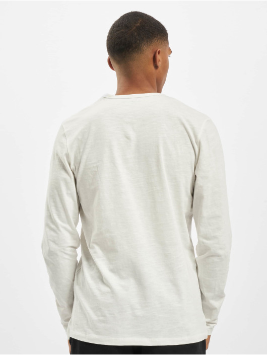 Jack & Jones Longsleeves jjeSplit Neck Noos bialy
