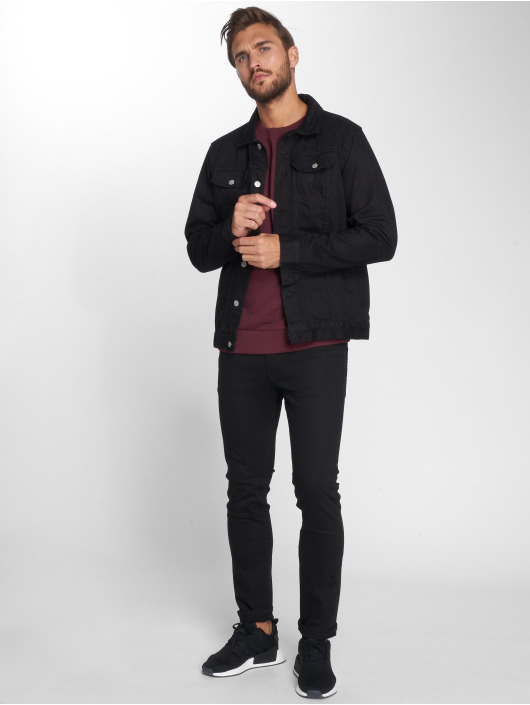 Jack & Jones Loose Fit Jeans jjiMike jjOriginal schwarz