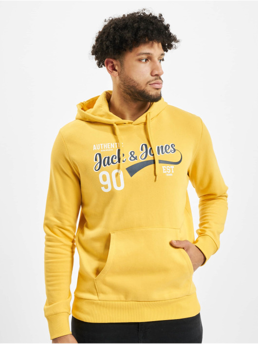 Jack & Jones Mikiny jjeLogo žltá