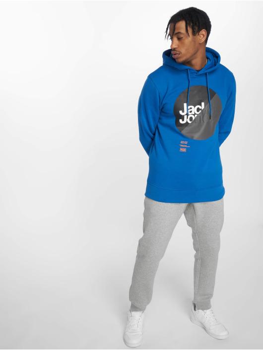 Jack & Jones Mikiny jcoLogan modrá