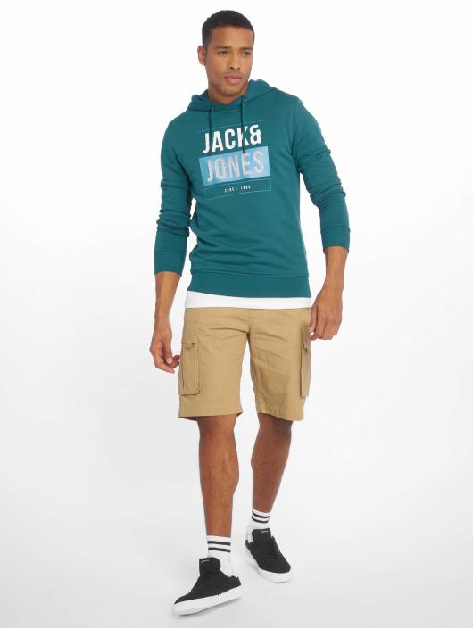 Jack & Jones Mikiny jcoMario modrá