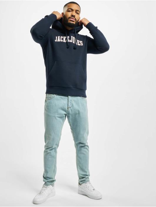 Jack & Jones Mikiny jjCrossing modrá