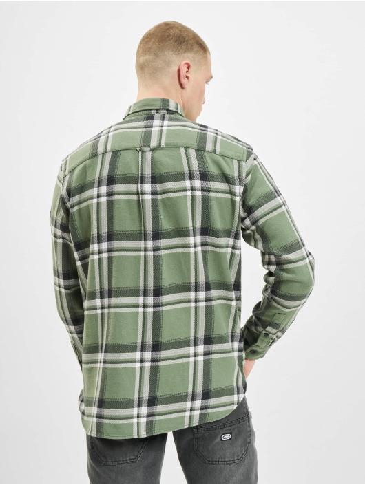 Jack & Jones overhemd jorFinder olijfgroen
