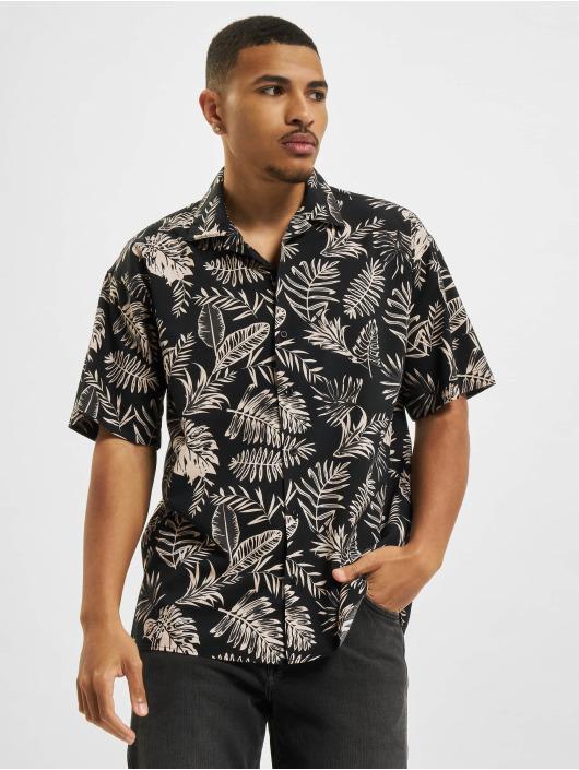 Jack & Jones overhemd Jprblaleaf Resort zwart