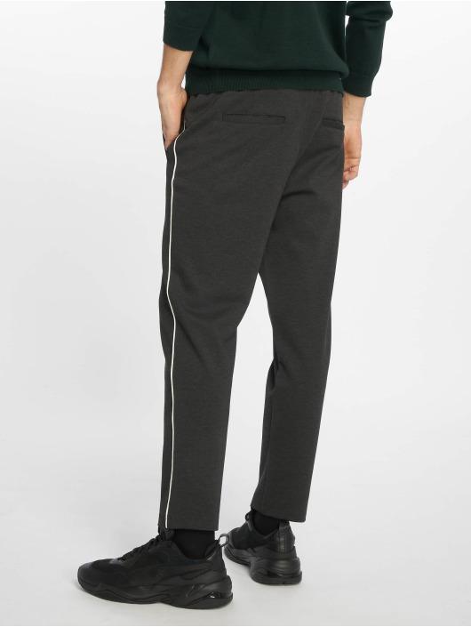 Jack & Jones Pantalon chino jjiVega jjTrash WW Binding gris