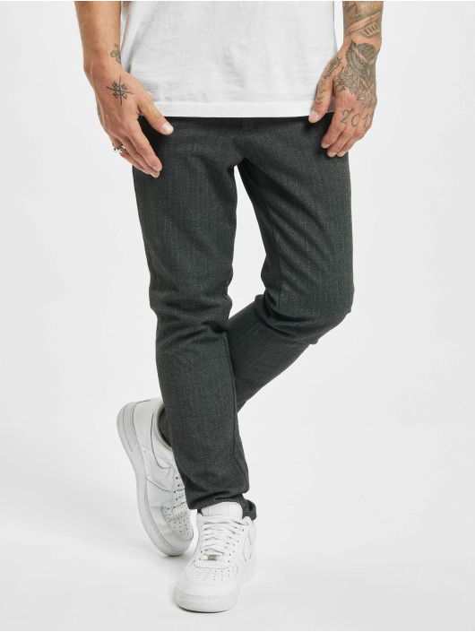Jack & Jones Pantalon chino jjiMarco jjConnor Akm gris