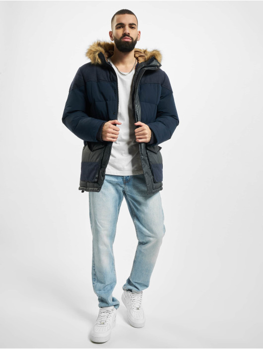 Jack & Jones Parka jprBluwoodland Expedition blue