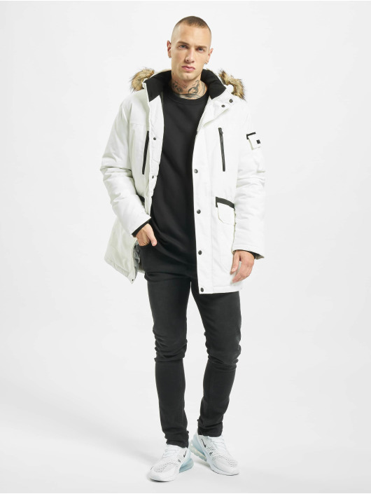 Jack & Jones Parka jcoGlobe wit