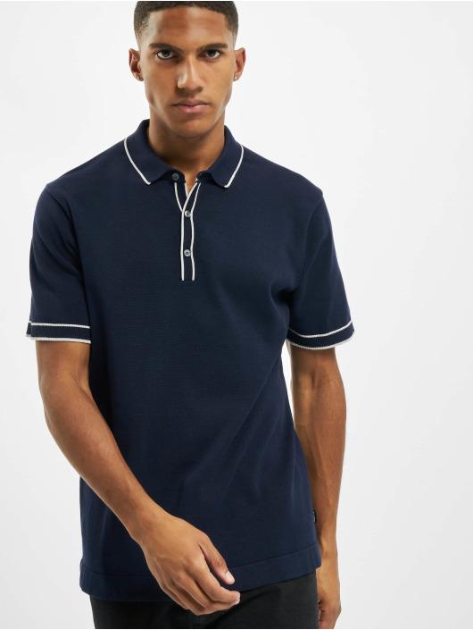 Jack & Jones Polo jprBlatime Knit bleu