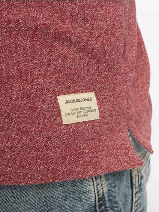 Jack & Jones Polo jjeJeans rouge