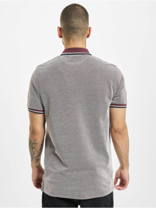 Jack & Jones Polo jprBluwin rouge