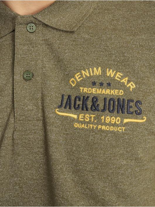 Jack & Jones Polokošele jjeJeans olivová