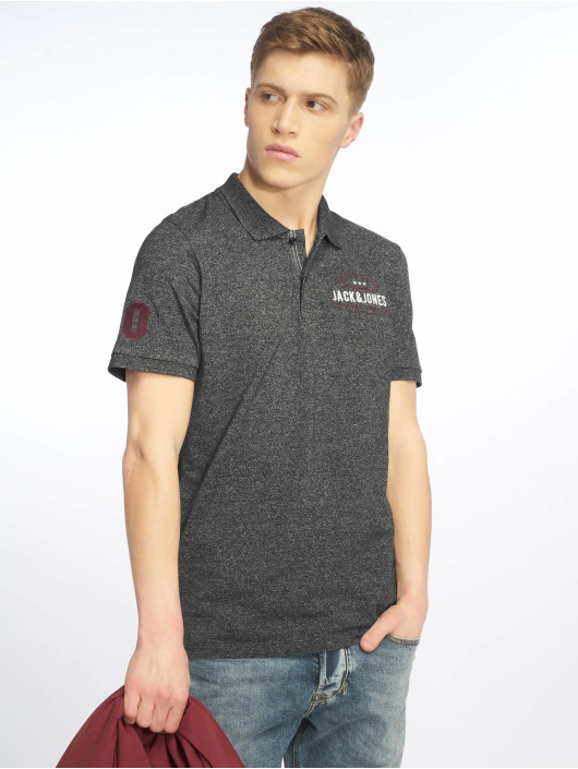 Jack & Jones Poloshirt jjeJeans black