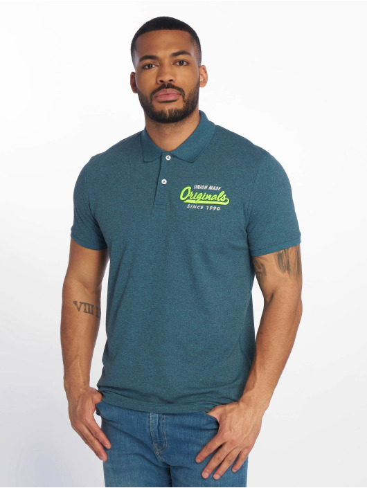 Jack & Jones Poloshirt jorVarcity blau