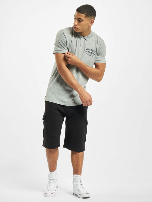 Jack & Jones Poloshirt jprBlurugged grau