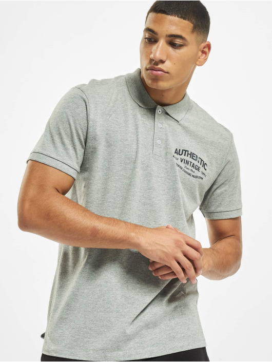 Jack & Jones Poloshirt jprBlurugged grey