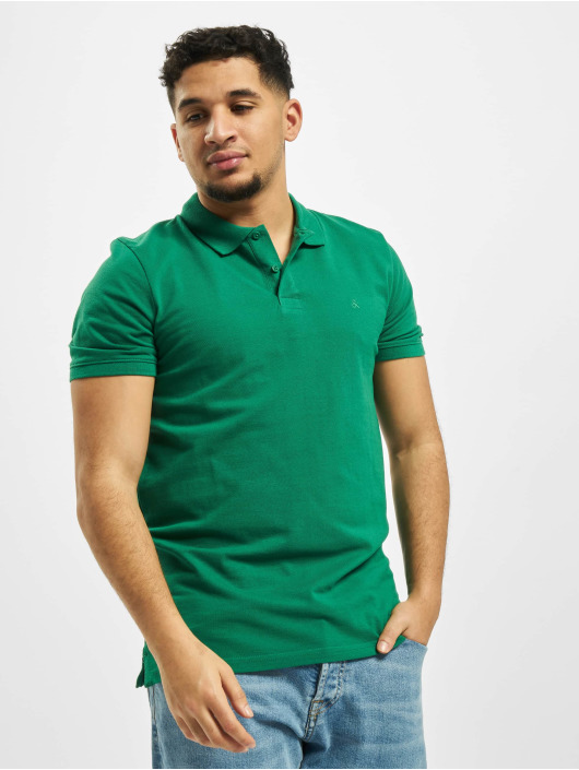 Jack & Jones Poloshirt jjeBasic Noos Polo grün
