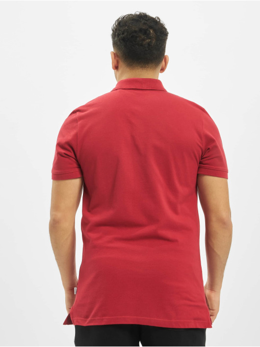 Jack & Jones Poloshirt jjeBasic Noos rot