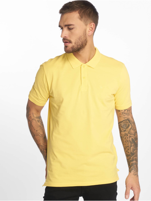 Jack & Jones Poloshirt jjeBasic yellow
