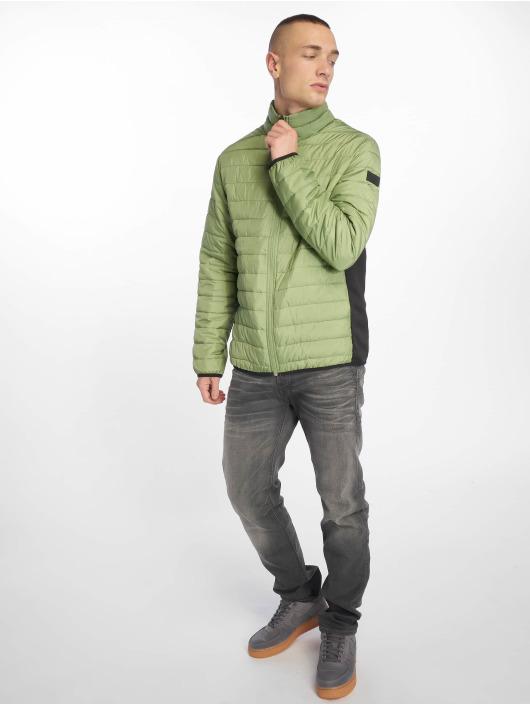 Jack & Jones Prešívané bundy jjeChicago zelená