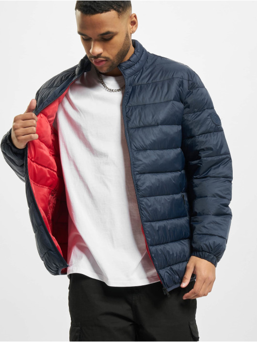 Jack & Jones Puffer Jacket jjeMagic Collar Noos blau