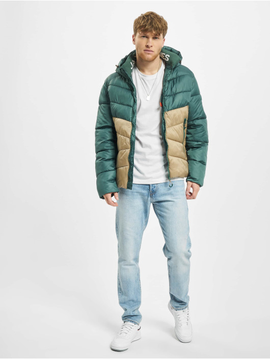 Jack & Jones Puffer Jacket jorAnder green