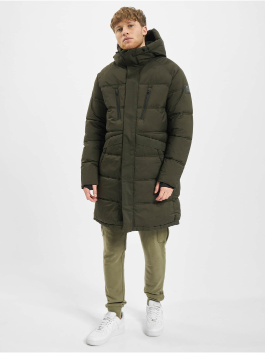 Jack & Jones Puffer Jacket jcoQuarry Long olive