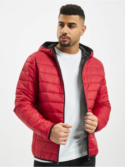 Jack & Jones Puffer Jacket jjeEric red