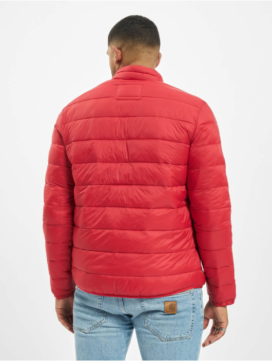 Jack & Jones Puffer Jacket jjeMagic Puffer Collar red
