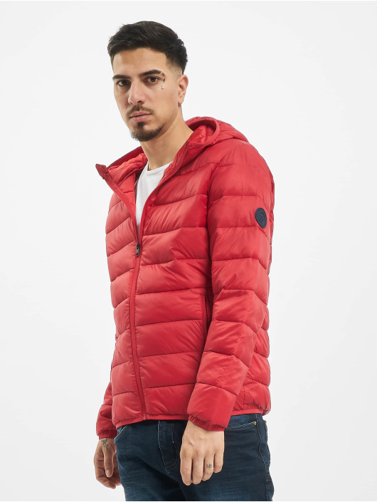 Jack & Jones Puffer Jacket jjeMagic red