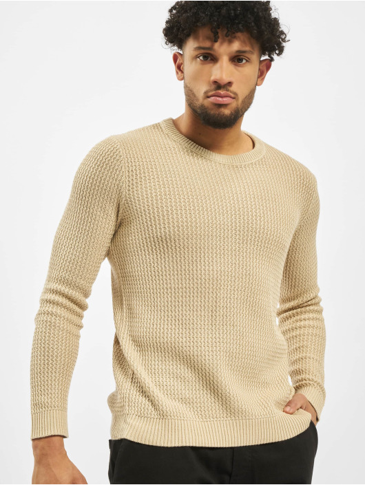 Jack & Jones Pullover jorFlow Knit beige