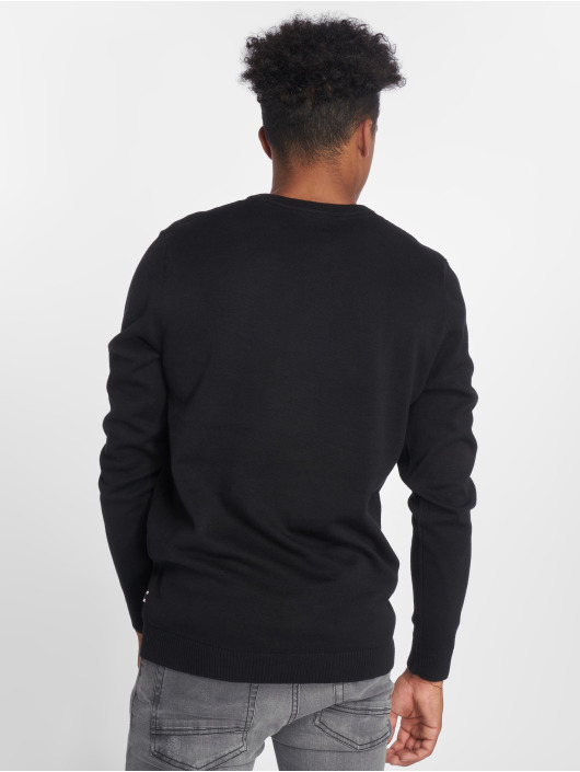 Jack & Jones Pullover jjeBasic Knit black