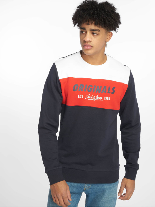 Jack & Jones Pullover jorShakedowns blau