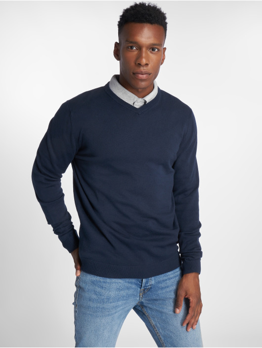 Jack & Jones Pullover jjeBasic blue