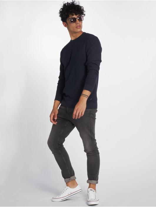 Jack & Jones Pullover jjeStructure Knit blue