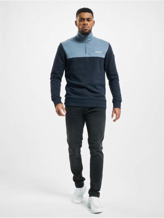 Jack & Jones Pullover jcoBerg Ire blue