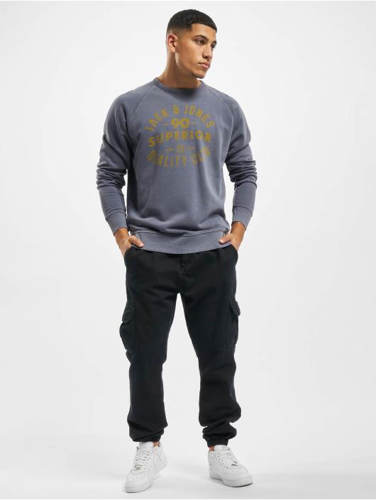 Jack & Jones Pullover jjeJeans Washed blue