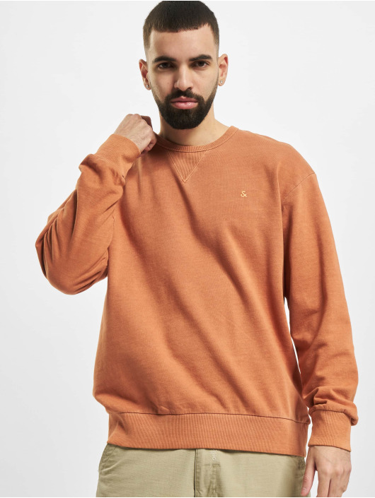 Jack & Jones Pullover jjeWashed Noos brown