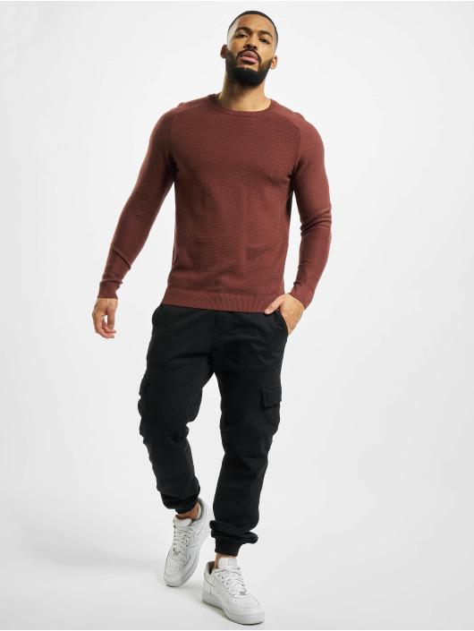 Jack & Jones Pullover jprBlaadam Knit brown