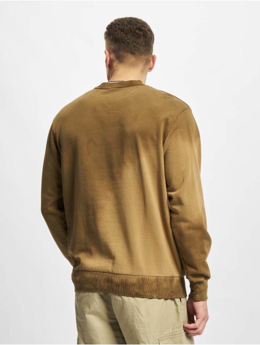 Jack & Jones Pullover Jjaworld Tiedye brown