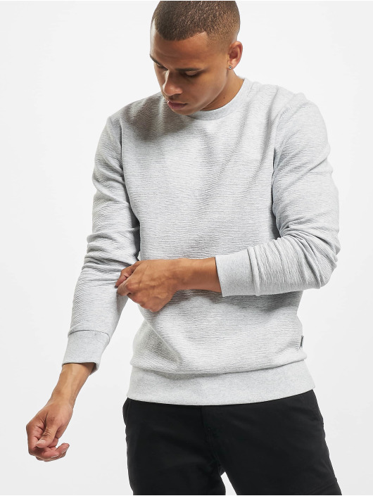 Jack & Jones Pullover jcoStructure grau
