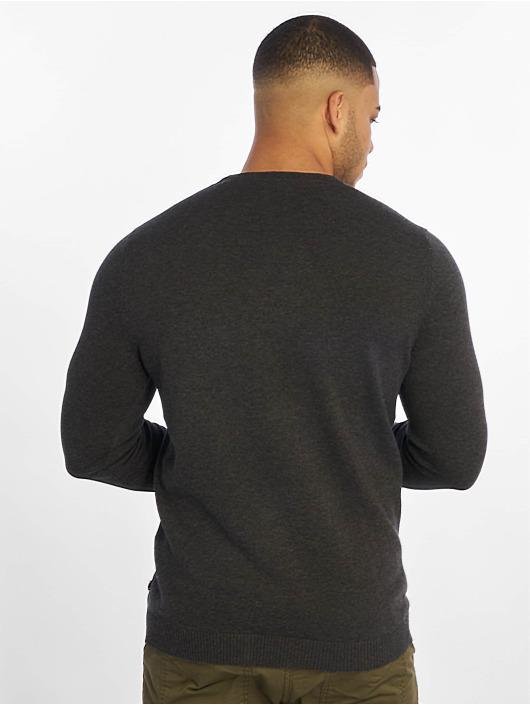 Jack & Jones Pullover jjeBasic gray
