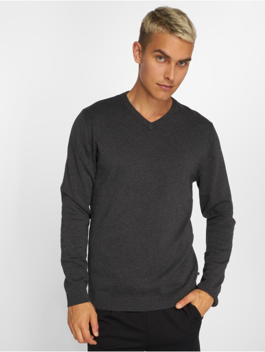 Jack & Jones Pullover jjeBasic gray