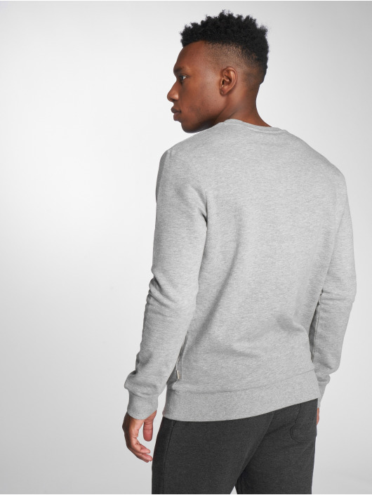 Jack & Jones Pullover jjeLogo Two Color gray