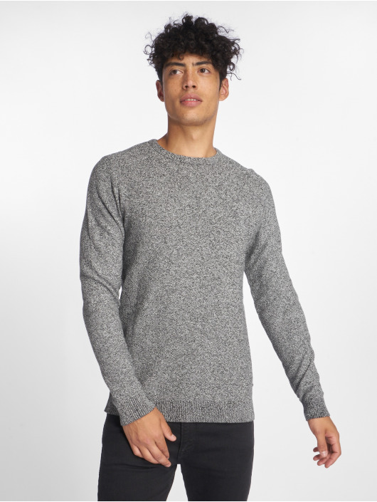 Jack & Jones Pullover jjeStructure gray