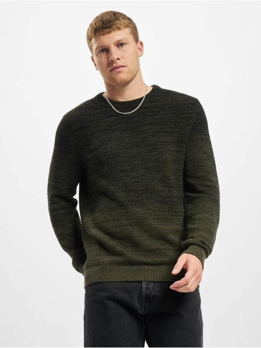 Jack & Jones Pullover Jjethomas Knit green