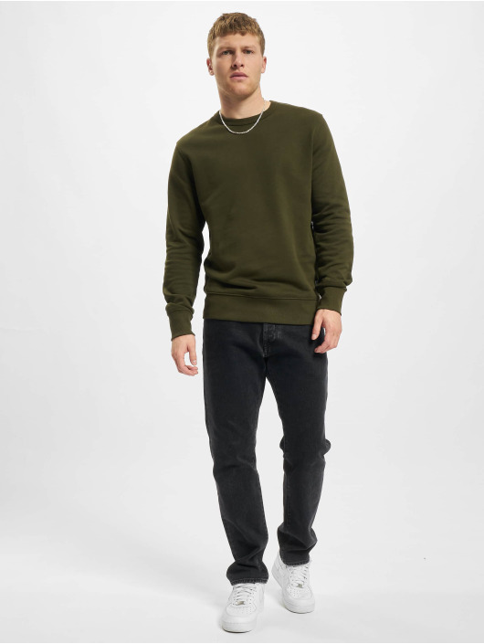 Jack & Jones Pullover Jjeorganic grün