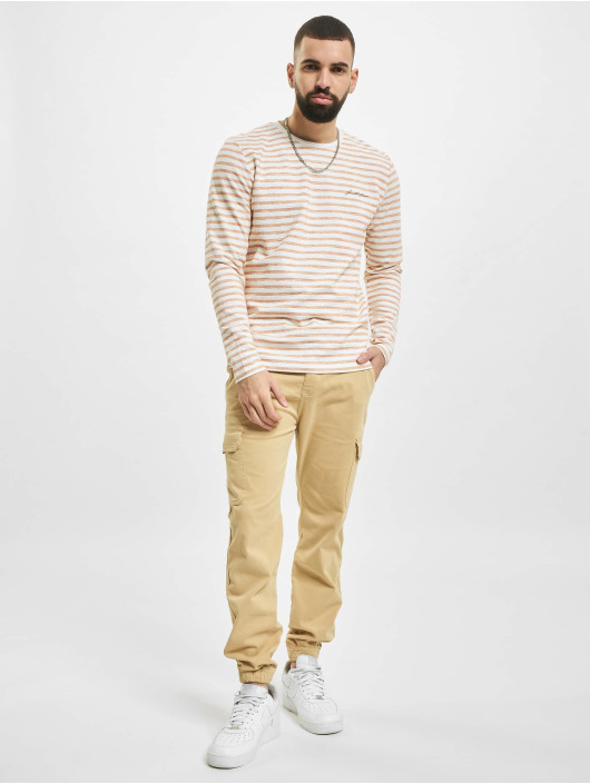 Jack & Jones Pullover jjStripe orange
